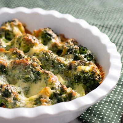 Keto Broccoli Cheese – Low Carb Broccoli Gratin
