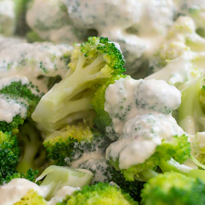 Keto Broccoli Cheese - Low Carb Broccoli Gratin