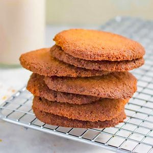 Delicious Keto Ginger Nut Cookies