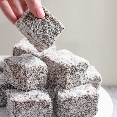 Keto Lamingtons Recipe – Awesome Low-Carb Chocolate & Coconut Coated Cream Filled Sponge Cake from Australia!
