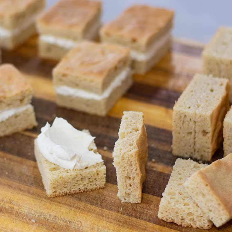 Keto Lamingtons Ingredients - delicious sugar free, gluten free cakes