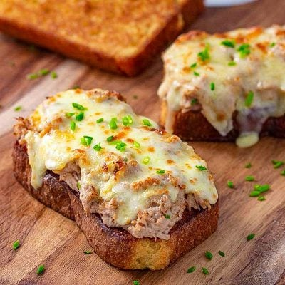 Keto Tuna Melt Recipe – Tasty Low Carb Toasted Cheese Sandwich