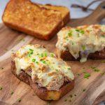 Keto Tuna Melt - gooey, cheesy melt recipe