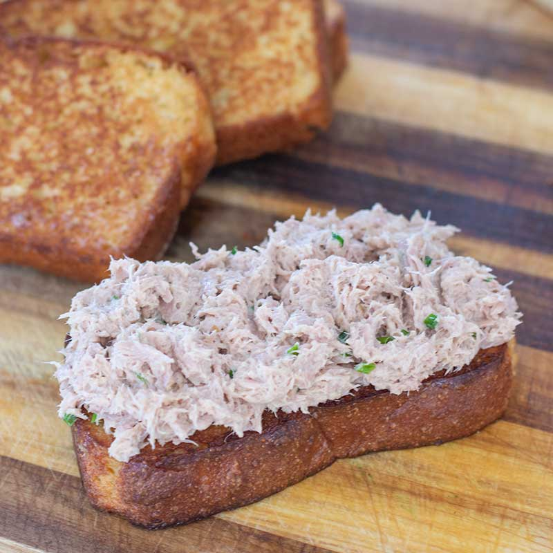 Keto Tuna Melt Ingredients - gooey, cheesy melt recipe