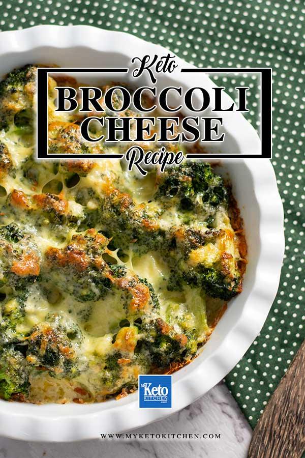 Low Carb Broccoli Gratin - Keto friendly, gluten free recipe