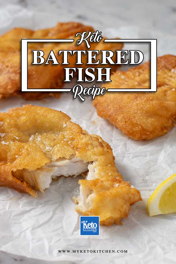 Low Carb Crispy Battered Fish - easy crispy fried fish recipe