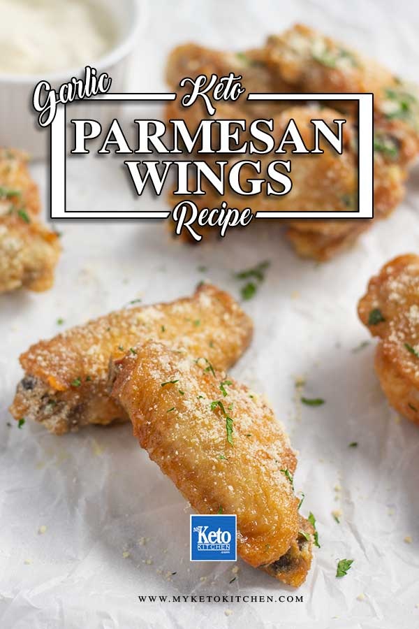 Low Carb Garlic Parmesan Chicken Wings