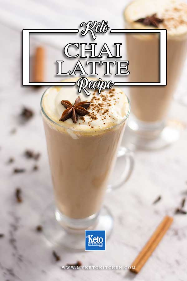Sugar Free Creamy Chai Latte - Keto tea