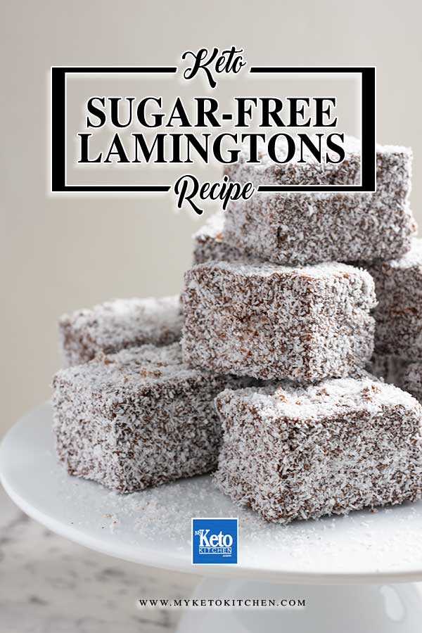 Sugar Free Keto Lamingtons