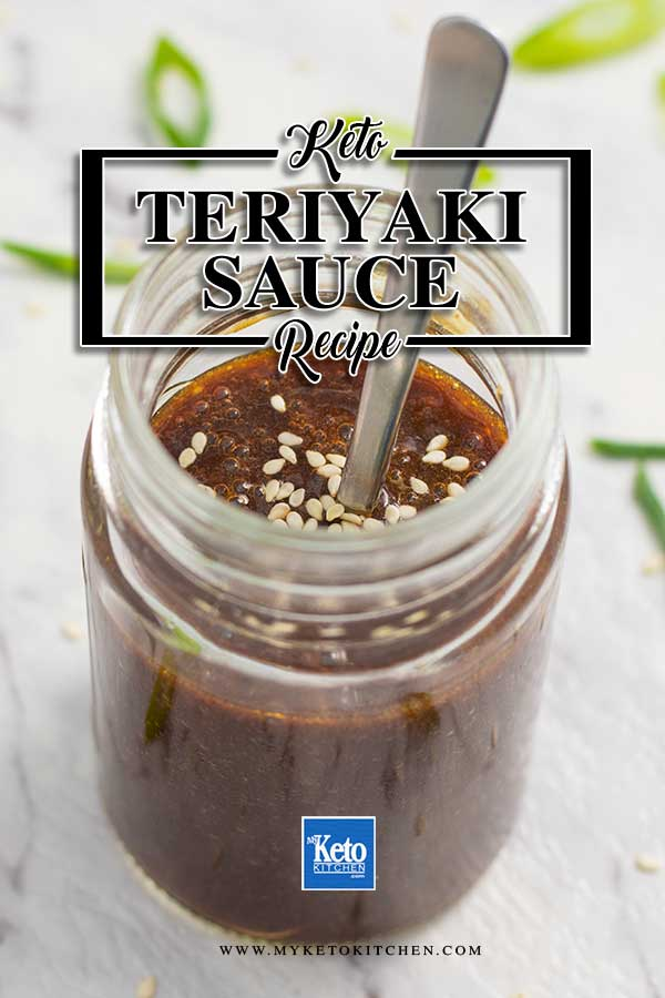 Sugar-Free Teriyaki Sauce - keto, low carb Japanese sauce recipe