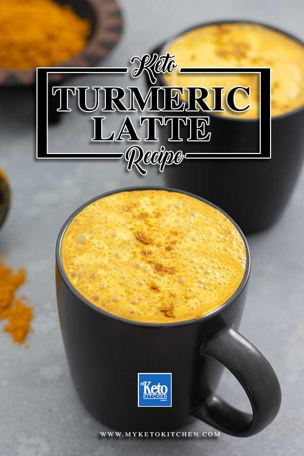 Sugar Free Keto Turmeric Latte