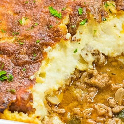 Keto Shepherds Pie with Cauliflower