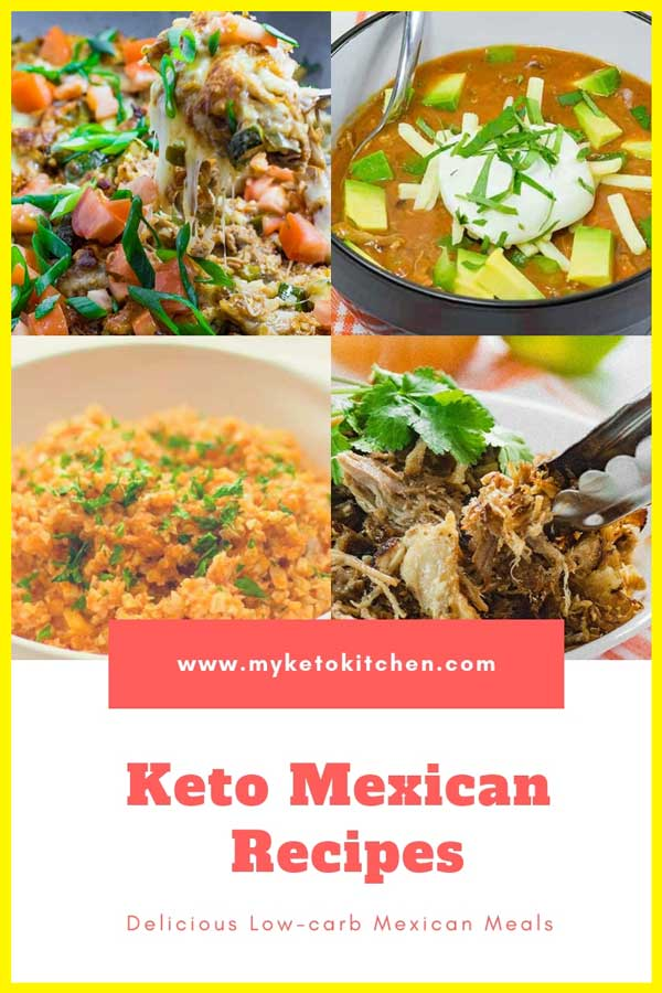 The Best Keto Mexican Recipes List