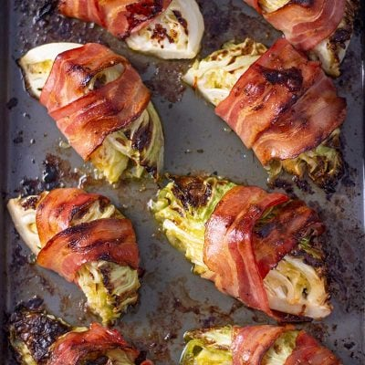 Bacon Wrapped Cabbage – The Only Way to Eat Cabbage!