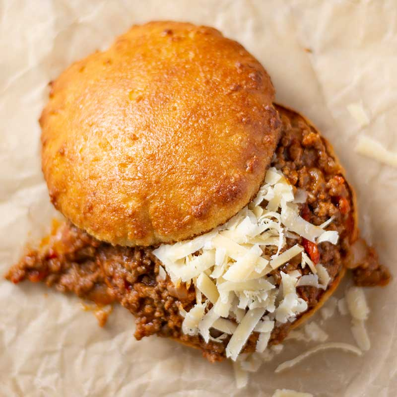 How to make Keto Sloppy Joes - easy gluten free sandwich recipe