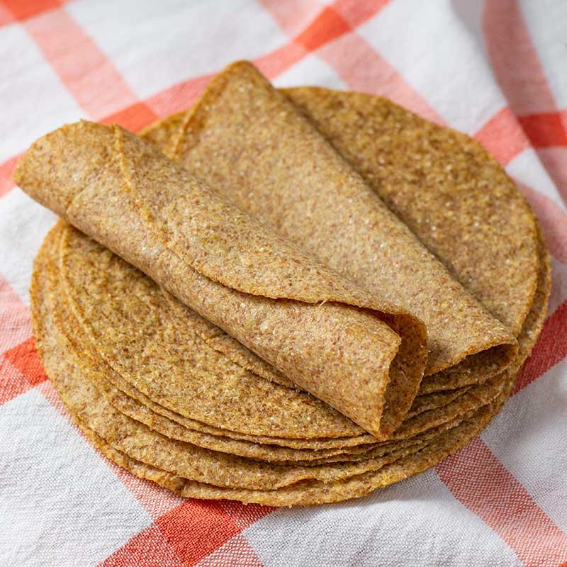How to make Keto Tortilla Wraps - easy flatbread recipe