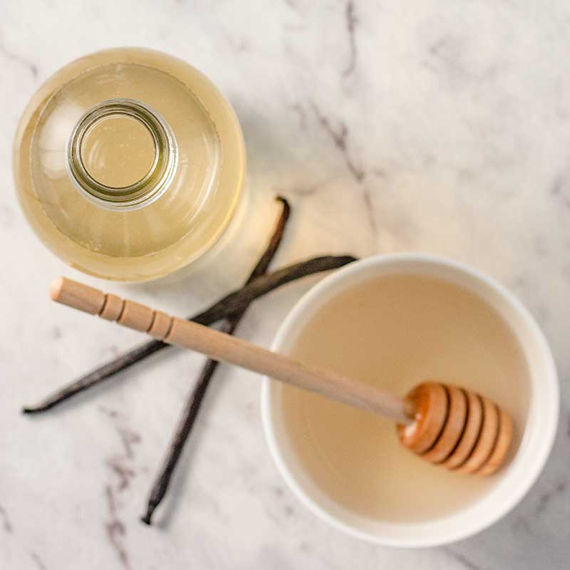 How to make Sugar-Free Vanilla Syrup - easy keto recipe