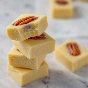 Keto Maple Pecan Fat Bombs - simple snack recipe