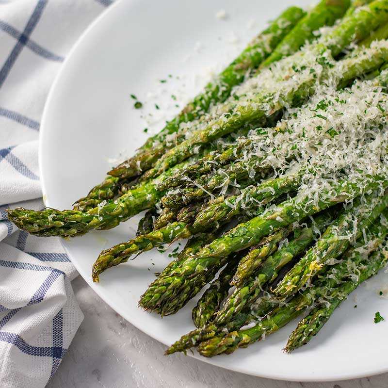 Keto Roasted Asparagus Quick Easy Low Carb Side Dish