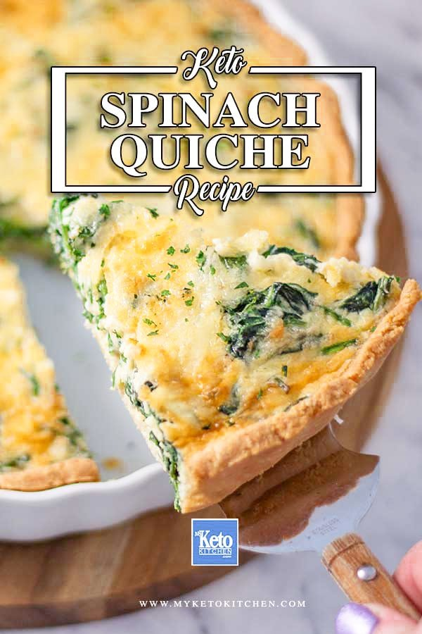 Keto Spinach Quiche Recipe Ingredients Delicious