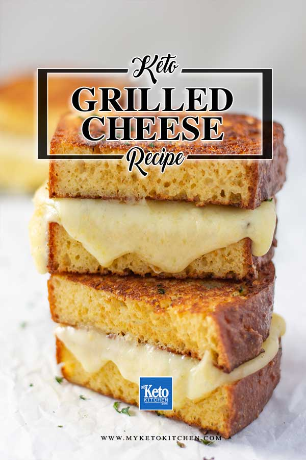 Keto Grilled Cheese Sandwich The Ultimate Low Carb Toastie