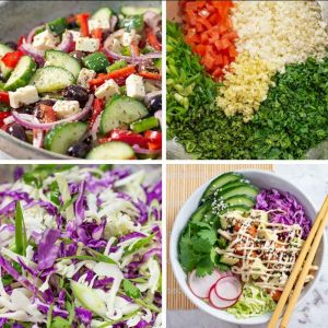 "11 Best Keto Salad Recipes – ""Refreshing & Nutritious"" – Low Carb Meals & Side Dishes!"