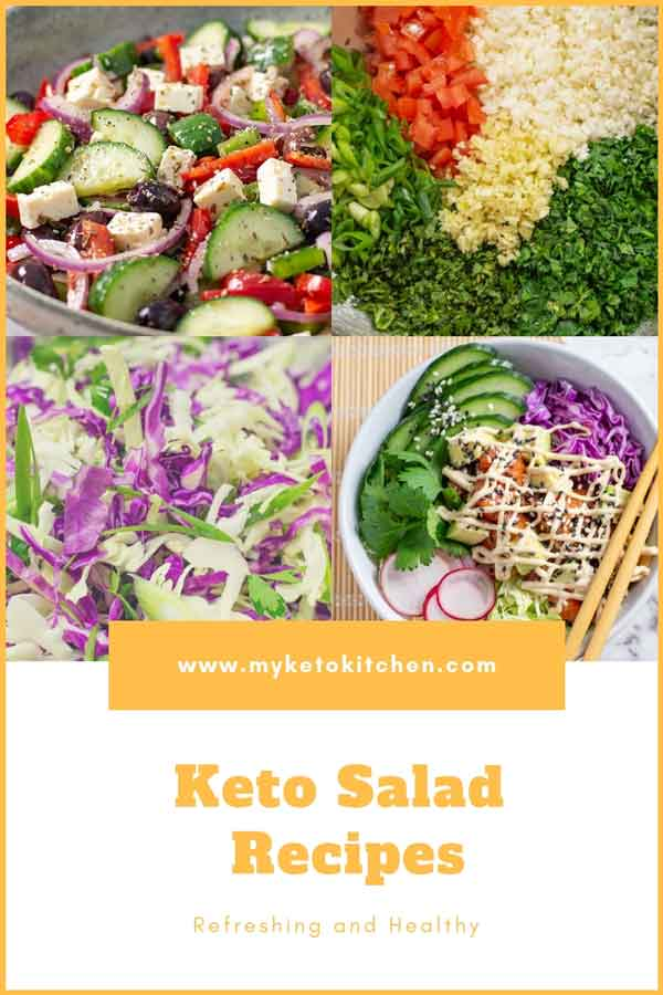 Our Best Keto Salad Recipes List