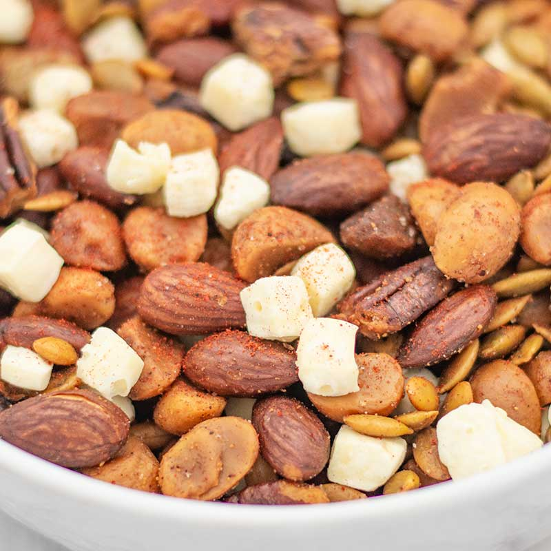 How to make Keto Trail Mix - easy snack recipe
