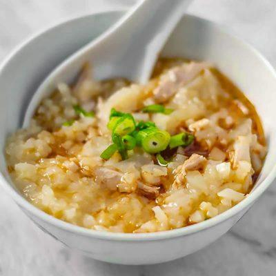 Keto Congee Recipe with Caulflower – Low Carb Chinese Porridge