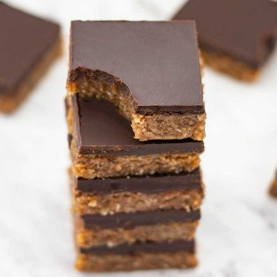 Keto Chocolate Almond Bars Recipe – Low-Carb Easy to Make & No Bake
