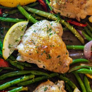 Keto Sheet Pan Chicken and Vegetables - easy recipe