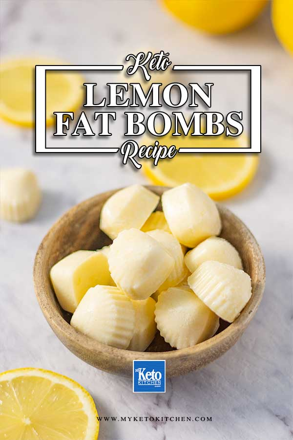 Lemon Fat Bombs - Sugar Free, Keto Snack Rcipe