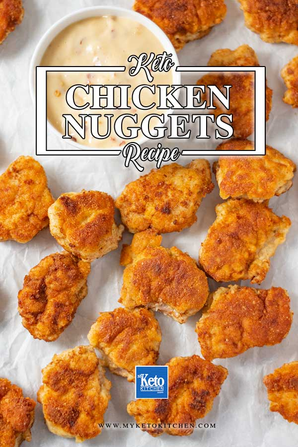 Low Carb Chicken Nuggets Recipe - easy, gluten free fast food recipe