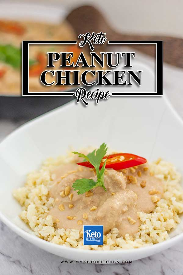 Low Carb Slow Cooker Peanut Chicken - slow cooker recipe