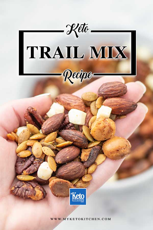 Savory Trail Mix - easy keto snack recipe