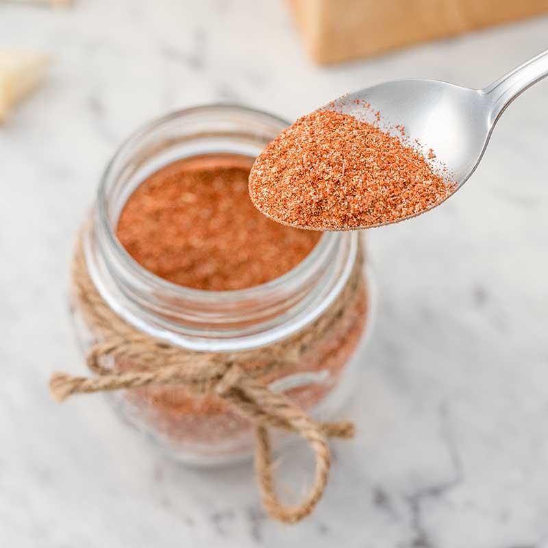 How to make Keto BBQ Dry Rub - simple spice mix recipe
