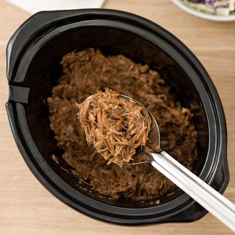 How to make Keto BBQ Pulled Pork - easy slow cooker recipe