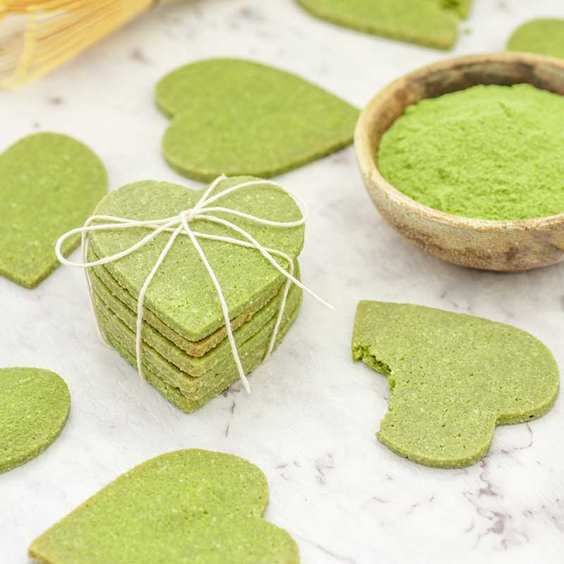 How to make Keto Matcha Cookies - easy sugar free snack recipe