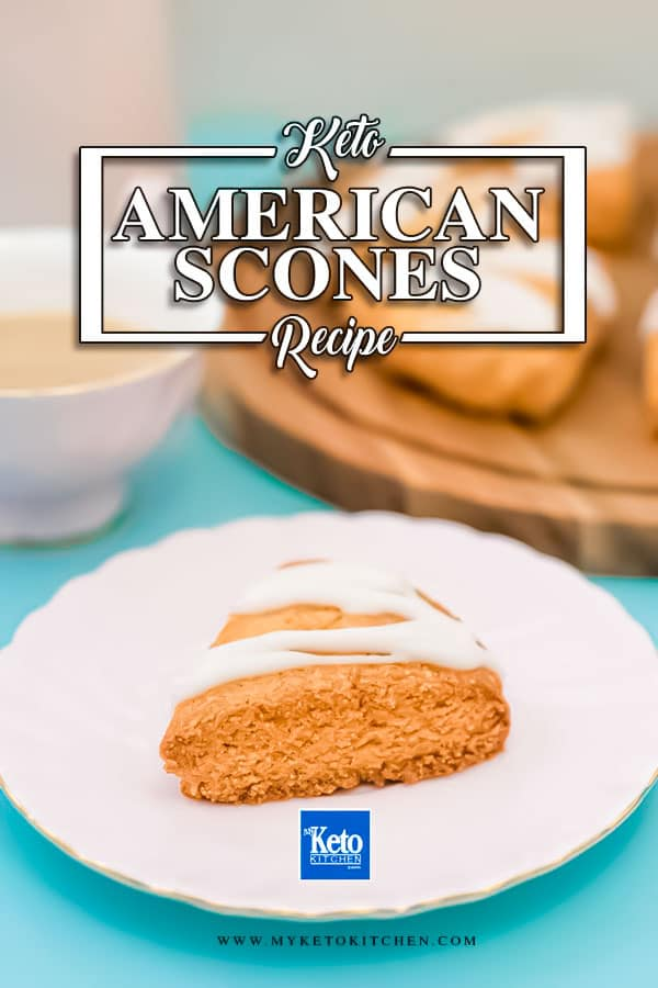 The Best Keto Vanilla Scones Recipe