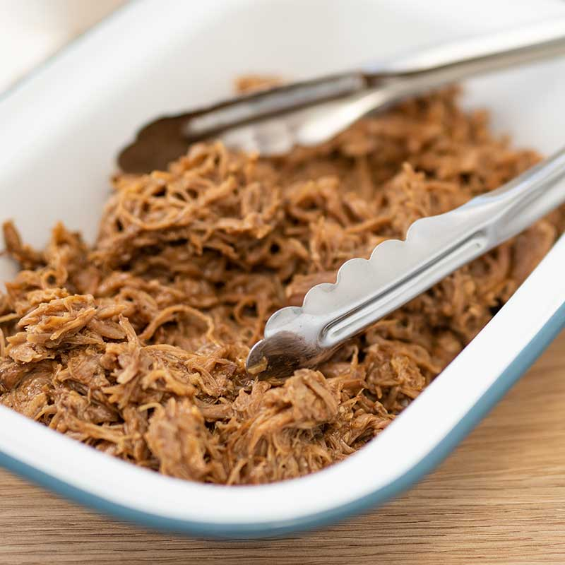 Keto BBQ Pulled Pork - easy slow cooker recipe