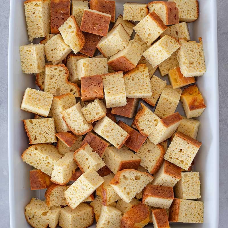 Keto French Toast Casserole Ingredients - easy breakfast recipe