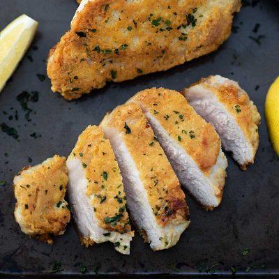 """Keto Parmesan Pork Chops Recipe – Pan Fried """"Crunchy & Moist"""""""