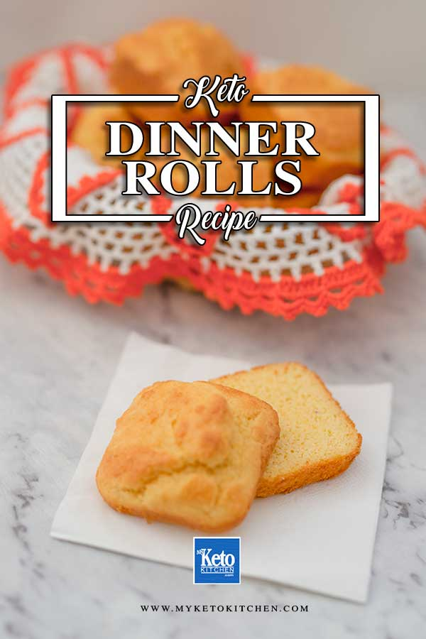 Low Carb Dinner Rolls - easy gluten free bread recipe