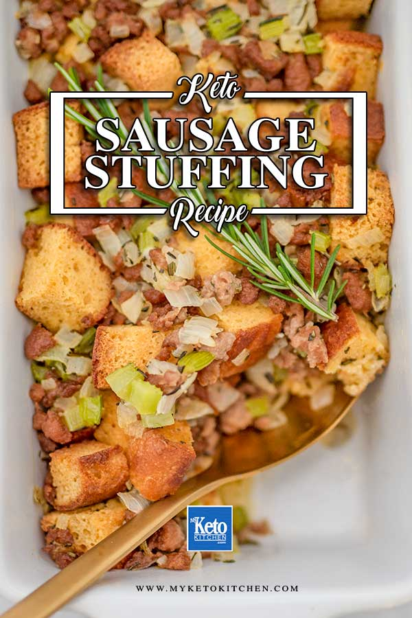 Low Carb Sausage Stuffing - easy dressing recipe