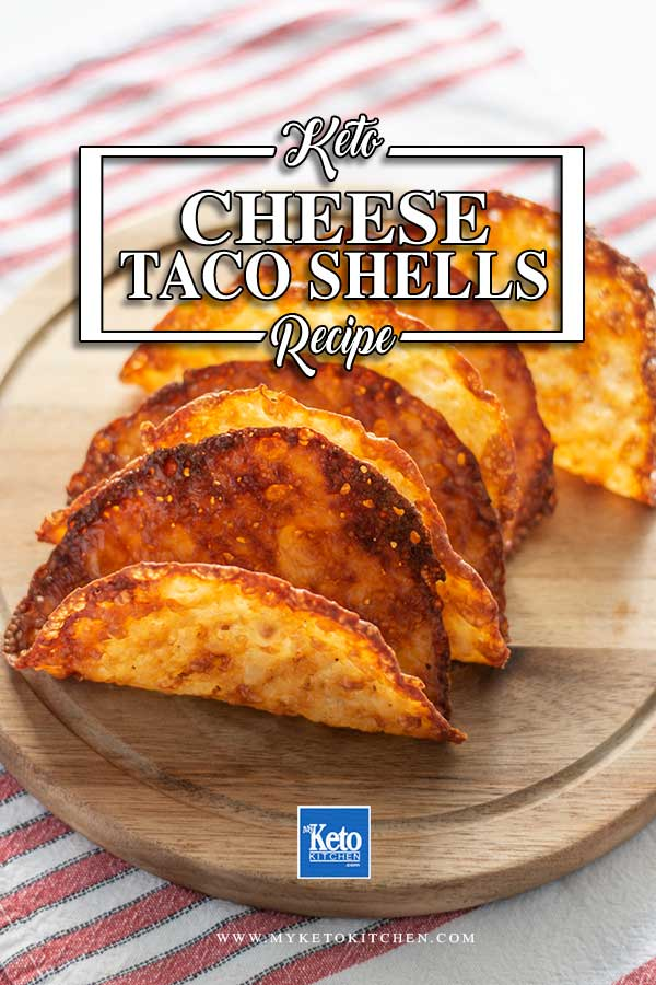 Low Carb Taco Shells - super easy 1 ingredient recipe