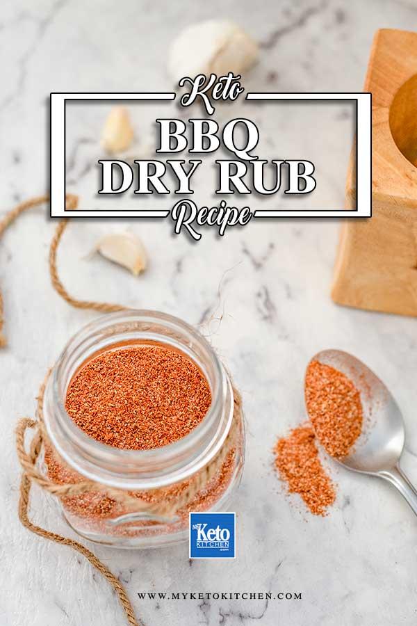 Sugar-Free BBQ Dry Rub - simple keto spice mix recipe