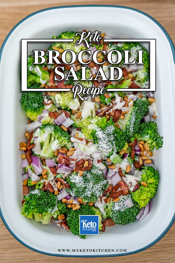 Broccoli Salad - easy keto side dish recipe