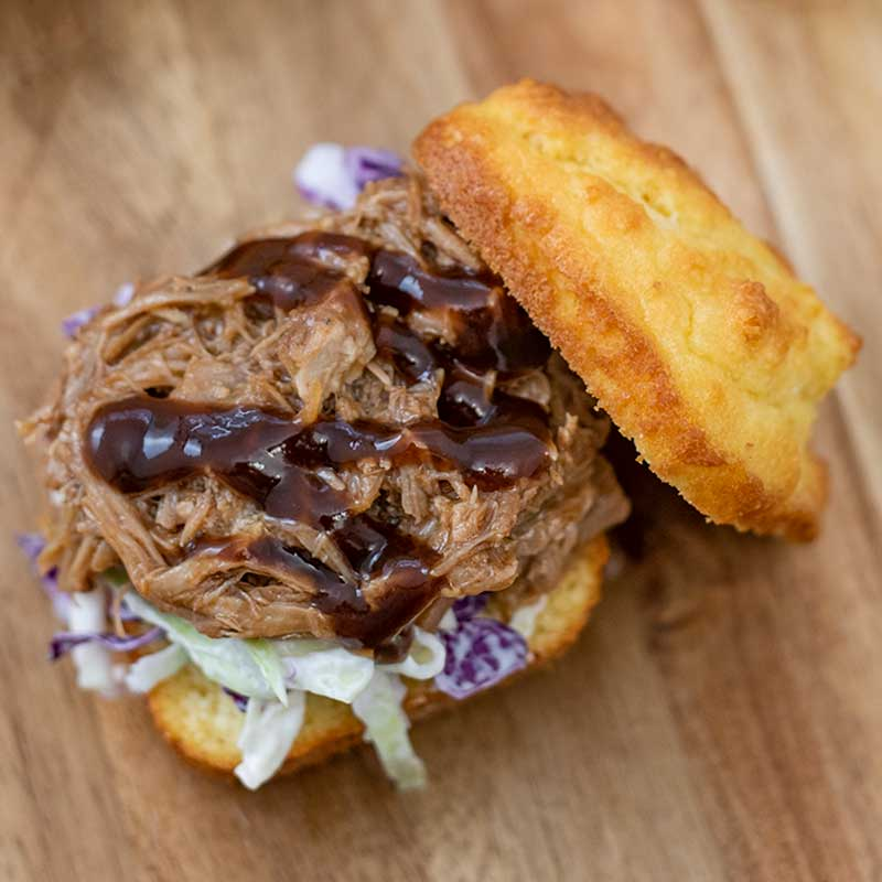 How to make Keto Pulled Pork Sliders - easy burger recipe