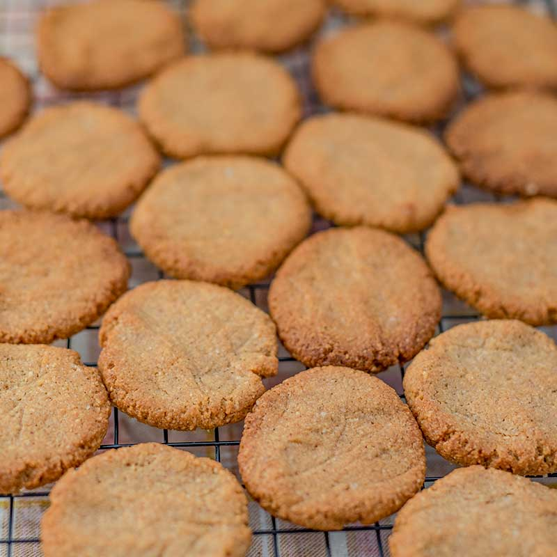 How to make Keto Pumpkin Spice Cookies - easy sugar free cookies recipe