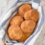 Keto Garlic Knots - delicious gluten free rolls recipe